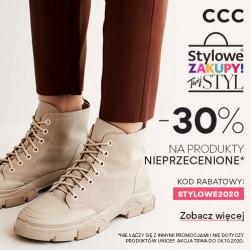 CCC -30% na obuwie
