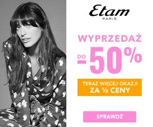 Do -50% w Etam