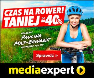 Rowery do 40% taniej!