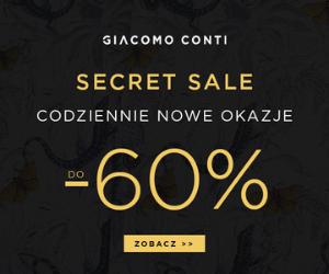 Marynarki taniej o  -40% w Giacomo Conti