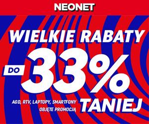 Neonet: Rabaty do -33%