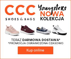 Sportowe obuwie w CCC!