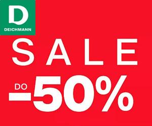 Deichmann: Zniżki do-50%