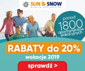 Wakacje 2019 z rabatem -20%!