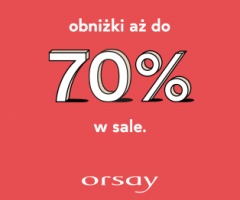 Promocje do -70% w Orsay