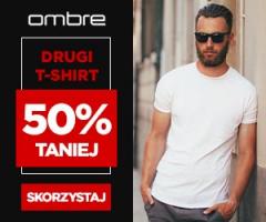 Drugi t-shirt -50%!