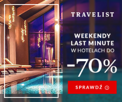 Hotele do -70% na Travelist!