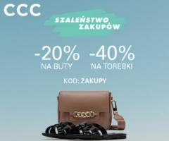 Rabaty na buty i torebki w CCC