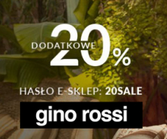 Dodatkowy rabat w Gino Rossi!