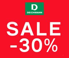 Sale -30% w Deichmann!