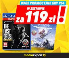 Dwie gry PS4 za 119 zł!