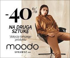 Moodo - 40% na drugą rzecz