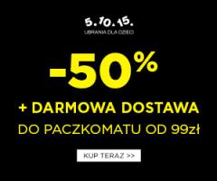 Darmowa dostawa w 5.10.15.