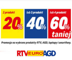 Rabat do 60% w RTV EURO AGD!