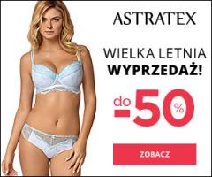 Astratex: wyprzedaż do -50%