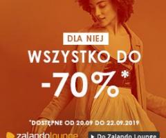 Rabaty do -70% na Zalando Lounge!