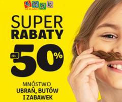 Super rabaty do -50%!