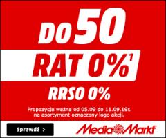 Do 50 rat 0% w Media Markt!