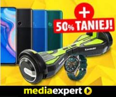 Smartwatch lub smartboard taniej o 50%!