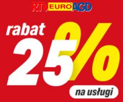 Usługi -25% taniej!