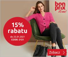 Rabat -15% w BonPrix