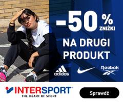 Drugi produkt -50% w InterSport
