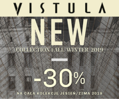 Vistula: nowa kolekcja -30%