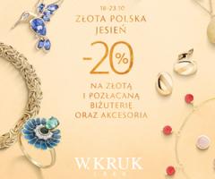 Biżuteria -20% taniej!