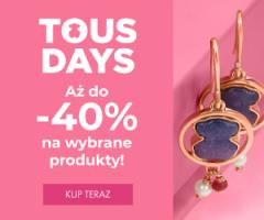 Tous Days do -40%!
