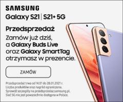 Przedsprzedaż Samsung Galaxy S21