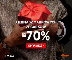Zegarki Timex do -70%!