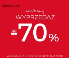 Greenpoint: do -70% taniej!