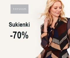 Sukienki do -70% taniej!