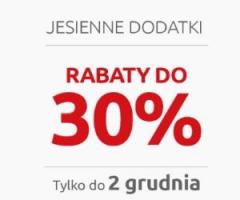 Jesienne dodatki -30%!