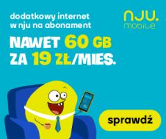 60 GB internetu za 19 zł!