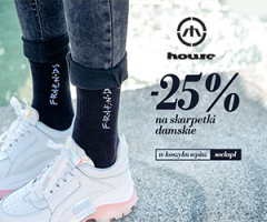 -25% na damskie skarpetki