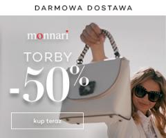 Torebki -50% w Monnari!
