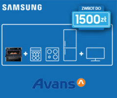 Samsung - zwrot do 1500zł!