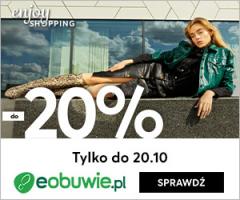-20% rabatu w Eobuwie!