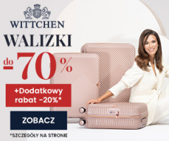 Walizki -70% w Wittchen