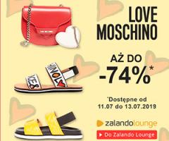 Love Moschino do -74% taniej!