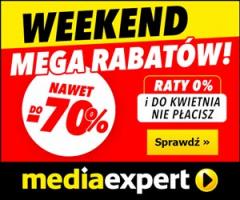 Weekend Mega Rabatów w MediaExpert!