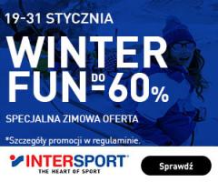 Zniżki do -60% w InterSport