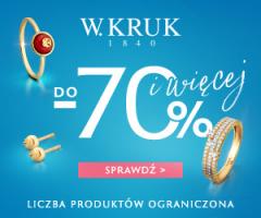 W.Kruk: okazje do -70%