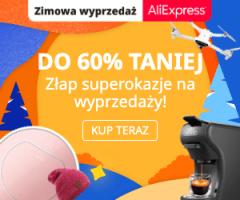 Promocje do -60% w Ali Express