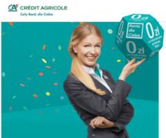 Załóż konto w Credit Agricole