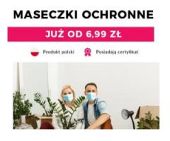 Maseczki ochronne od 6,99 zł!
