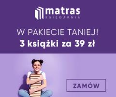 Matras: 3 książki za 39 zł!