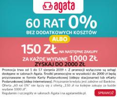 Promocja w Salonach Agata!