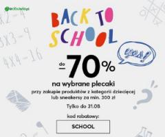 Eobuwie: Back to school